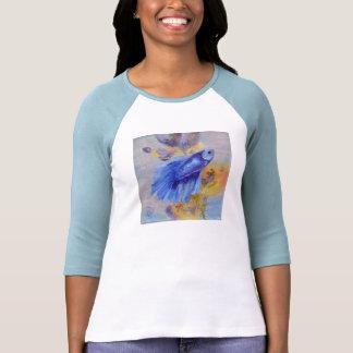 Little Blue Betta Fish Shirt