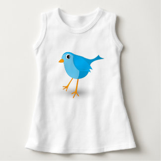 Little Blue Bird Cute Baby's or Infant's T-Shirt