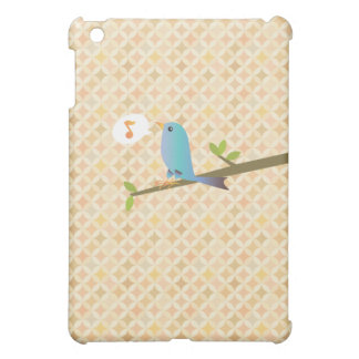 Little Blue Bird iPad cover case