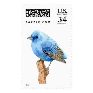 Little Blue Bird Postage