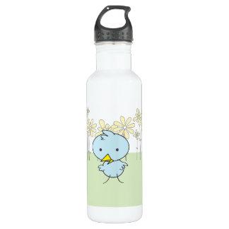 Little Blue Birdie Liberty Water Bottle
