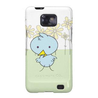 Little Blue Birdie Samsung Case Samsung Galaxy S2 Cover