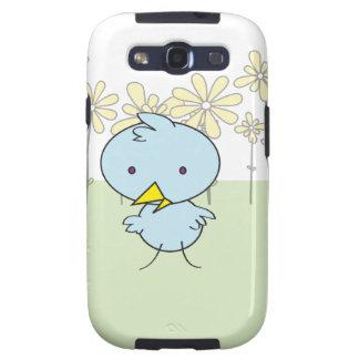 Little Blue Birdie Samsung Case Galaxy S3 Covers