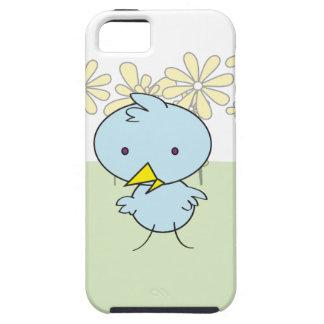 "Little Blue Birdie ""Tough"" IPhone Case iPhone 5 Covers"