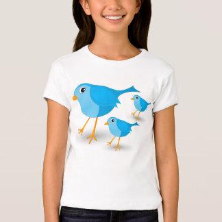 Little Blue Birds Cute Girls or Kids T-Shirt