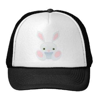 Little Blue Bunny Trucker Hat