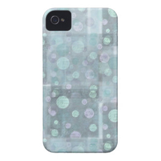 Little blue circles design for iphone4 iPhone 4 Case-Mate case