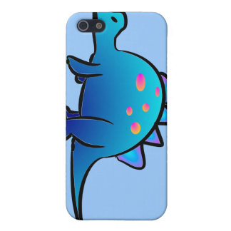 Little Blue DIno iPhone 5 Cases