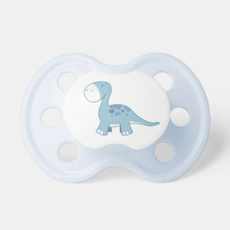 Little Blue Diplodocus Dinosaur Pacifier