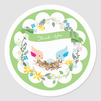 Little Blue Egg | Baby Shower Favor Sticker