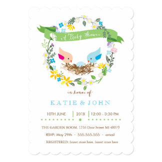 Little Blue Egg  |  Boy Baby Shower Invitation