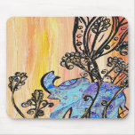 Little Blue Elephant Mousepad
