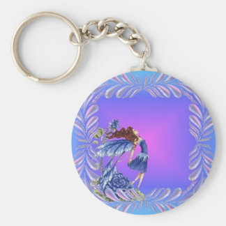 Little blue fairy keychains