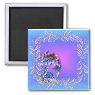 Little blue fairy magnet