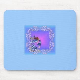 Little blue fairy mousemat