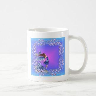 Little blue fairy mug