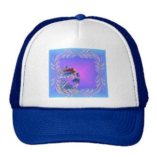 Little blue fairy trucker hats