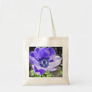 Little Blue Flower Canvas Bag