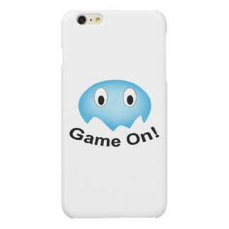 Little Blue Ghost (Game On!) iPhone 6 Plus Case Matte iPhone 6 Plus Case