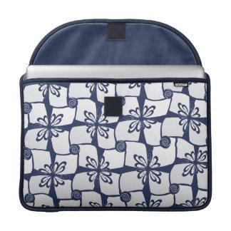 Little Blue Gifts Pattern MacBook Pro Sleeve