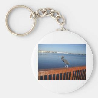 Little Blue Heron Keychain