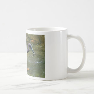 Little Blue Heron With Crayfish Classic White Coffee Mug