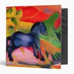 Little Blue Horse, 1912 Binders