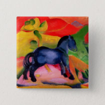 Little Blue Horse, 1912 Button