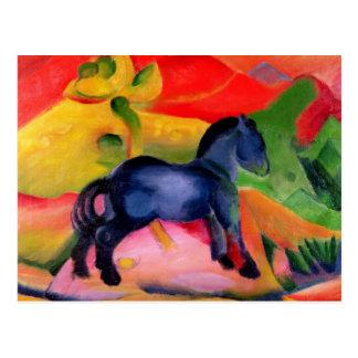Little Blue Horse, 1912 Postcard