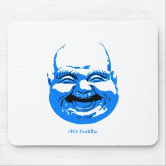 little blue laughing-buddha mousepad