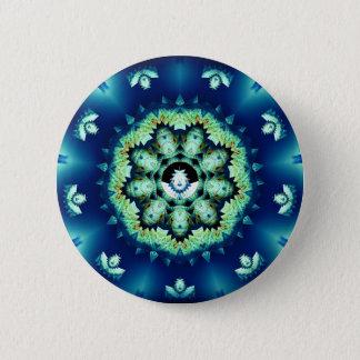 Little Blue Man Button