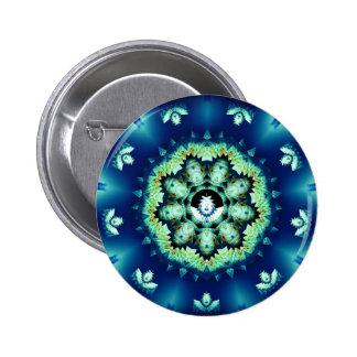 Little Blue Man Buttons