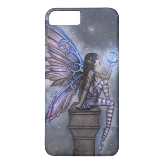 Little Blue Moon Fairy Faerie Fantasy Art iPhone 8 Plus/7 Plus Case