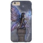 Little Blue Moon Fairy Faerie Fantasy Art Tough iPhone 6 Plus Case
