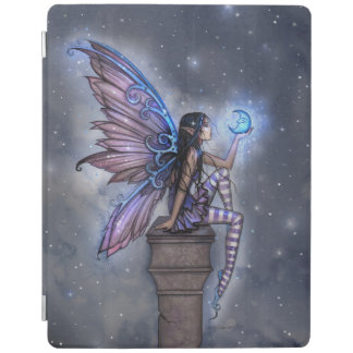 Little Blue Moon Fairy Fantasy Art iPad Cover