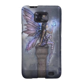 Little Blue Moon Fairy Samsung Galgaxy Case Samsung Galaxy S Cases
