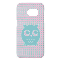 Little Blue Owl Samsung Galaxy S7 Case