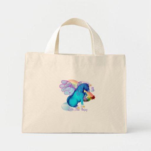 *Little Blue Unipeg Canvas Bag
