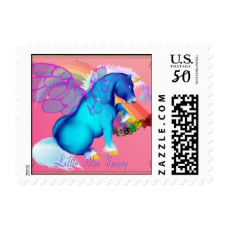 Little Blue Unipeg mousepad Postage