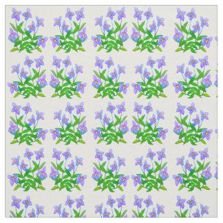 Little Bluet Wildflowers Floral Fabric