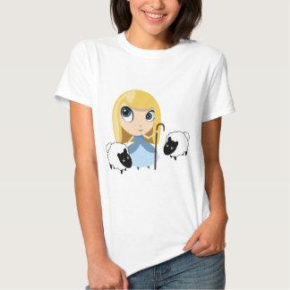 Little Bo Peep and her Sheep Shirt