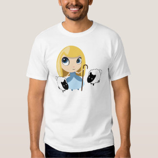 Little Bo Peep and her Sheep T Shirt