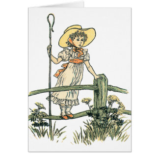 Little Bo Peep Greeting Cards