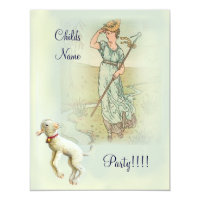 Little Bo Peep Card