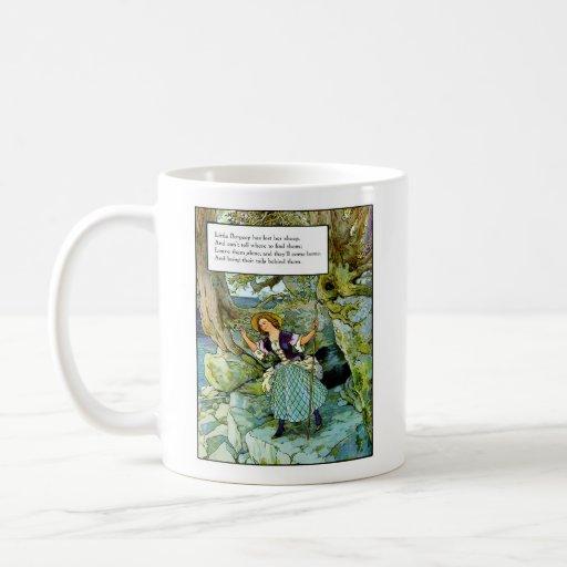 Little Bo-Peep Classic White Coffee Mug
