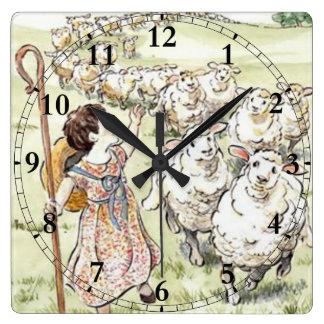 Little Bo Peep Clocks