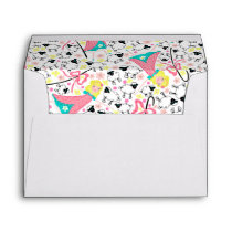 Little Bo Peep custom envelope