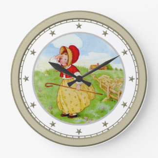Little Bo Peep Has Lost Her Sheep Clock