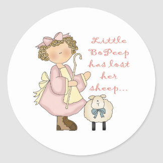 Little Bo Peep Has Lost Her Sheep Stickers