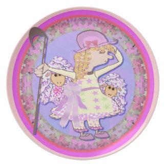 Little Bo Peep Melamine Plate